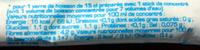 Grenadine 0% sucre - Informations nutritionnelles - fr
