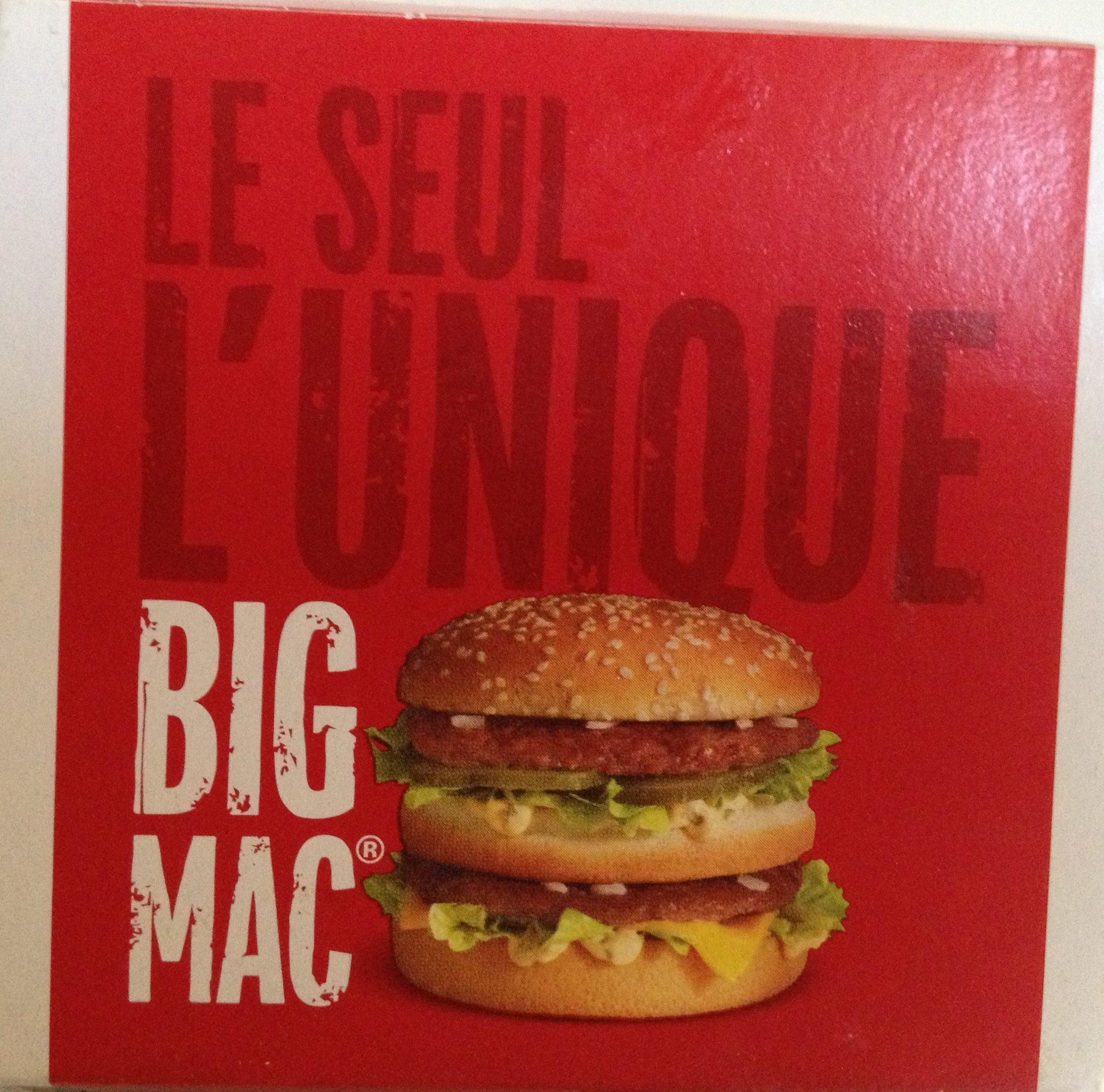 Big Mac - Producto - en