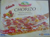 Pizza Géante Chorizo - Produit - fr