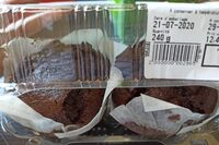 Muffins double chocolat - Product - fr