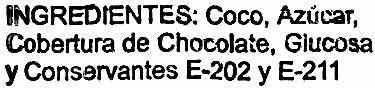 Bolitas de coco - Ingredientes - es