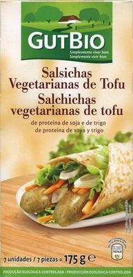 Salchichas vegetales de tofu - Produit