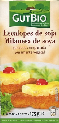 Escalopes vegetales de soja - Produit