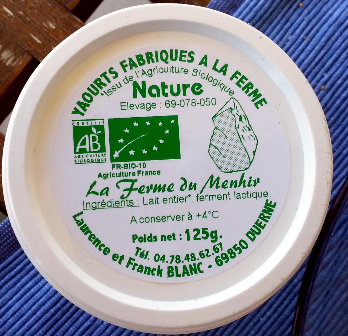 Yaourts fabriqués à la ferme - Produit - fr
