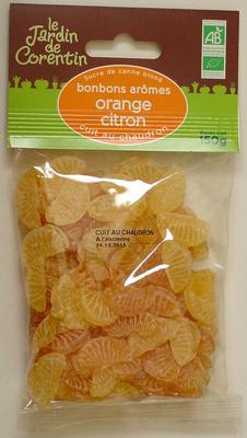 Bonbons arômes orange citron cuit au chaudron - Product