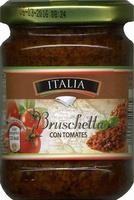 Bruschetta con tomates - Producto - es