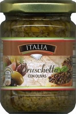 Bruschetta con olivas - Product