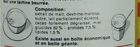 Tonimalt - Ingrediënten - fr