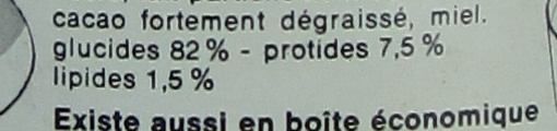 Tonimalt - Voedingswaarden - fr