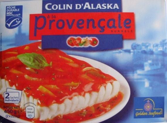 Colin d 39 alaska la proven ale surgel golden seafood - Cuisiner du colin surgele ...