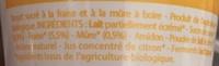 Mon Bio à Boire à la paille Fraise-Mûre - Ingredients - fr