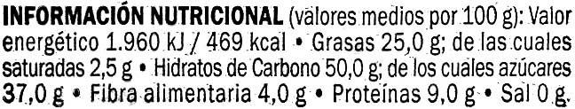 """Figuritas de mazapán """"DOR"""" - Nutrition facts - es"""