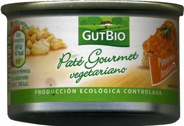 Paté vegetariano Pimiento Anacardo - Producte