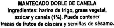 """Mantecados de canela con grasa vegetal """"La Flor de Antequera"""" - 3"""