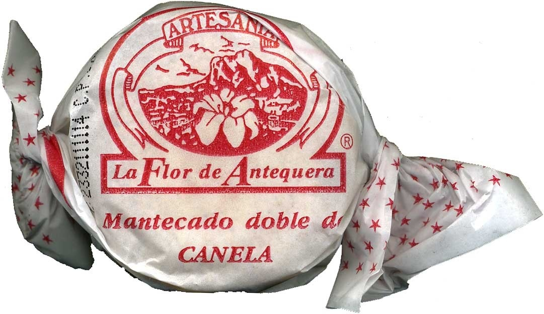 """Mantecados de canela con grasa vegetal """"La Flor de Antequera"""" - Producto"""
