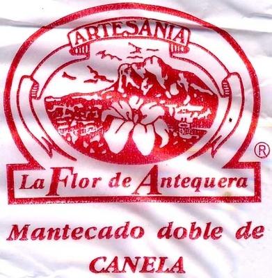 """Mantecados de canela con grasa vegetal """"La Flor de Antequera"""" - Información nutricional"""