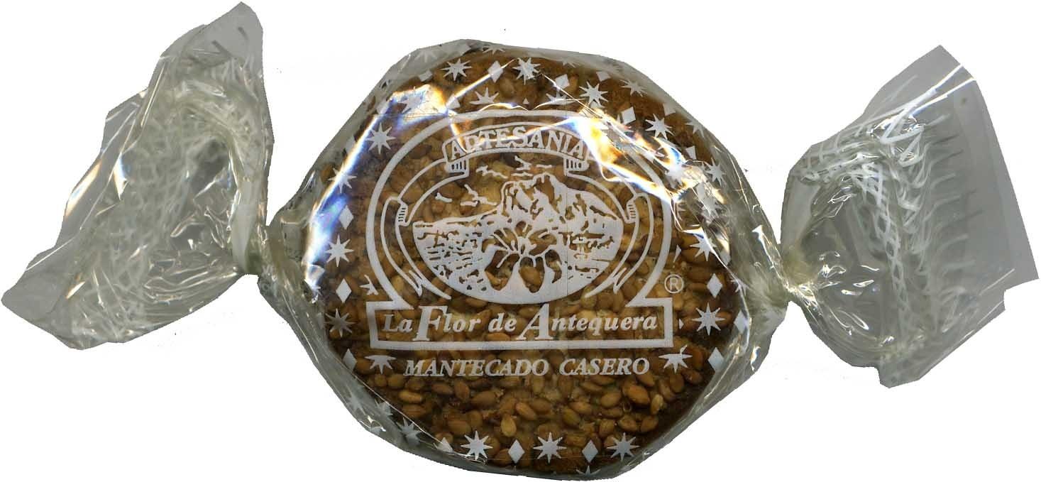 """Mantecados con grasa vegetal """"La Flor de Antequera"""" - Producto - es"""