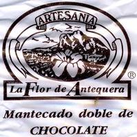 """Mantecados de chocolate con grasa vegetal """"La Flor de Antequera"""" - Voedingswaarden"""