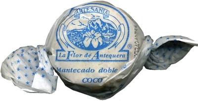 """Mantecados de coco con grasa vegetal """"La Flor de Antequera"""" - Producte"""