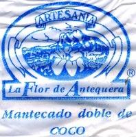 """Mantecados de coco con grasa vegetal """"La Flor de Antequera"""" - Informació nutricional - es"""
