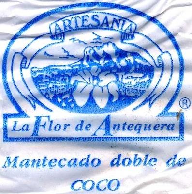 """Mantecados de coco con grasa vegetal """"La Flor de Antequera"""" - Informació nutricional"""
