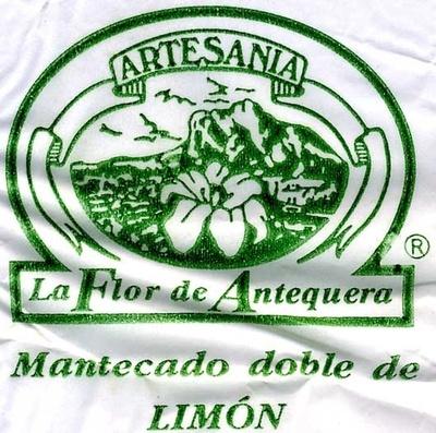 """Mantecados de limón con grasa vegetal """"La Flor de Antequera"""" - Informació nutricional"""