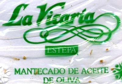 """Mantecados de aceite de oliva """"La Vicaría"""" - Información nutricional - es"""