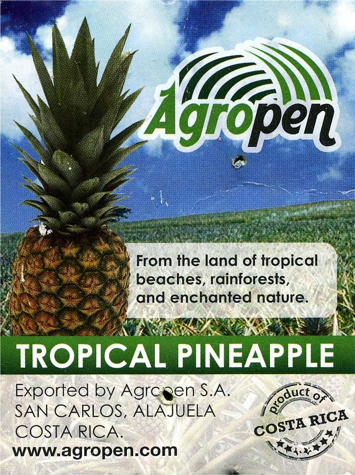 "Piña ""Agropen"" - Ingredientes - es"