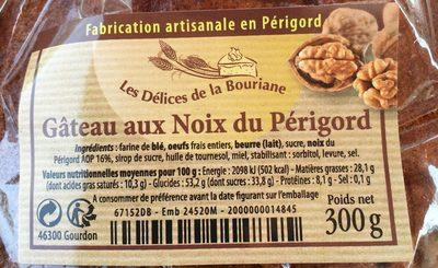 Gateau au noix du perigord - Product - fr