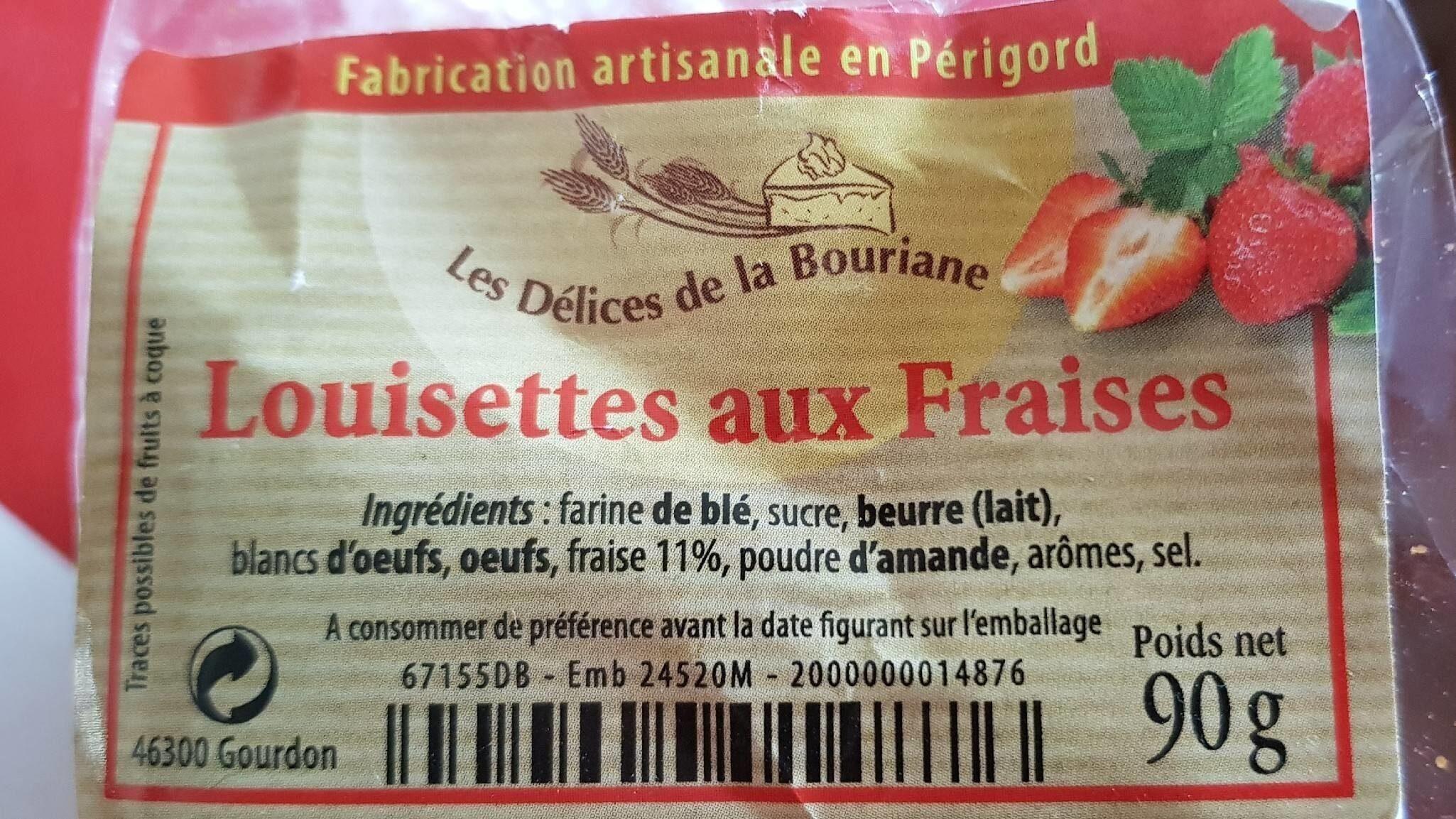 Louisettes aux fraises - Product - fr