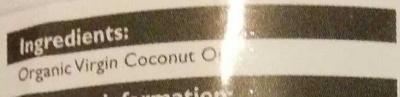 Coconpure - Ingrediënten