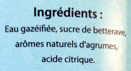 Limonade La Beauceronne - Ingrédients - fr