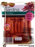 Filetes des sardina anchoada - Producto