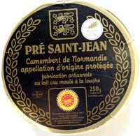 Camembert de Normandie Pré Saint-Jean - Produit