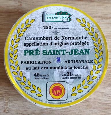 Camembert de Normandie Pré Saint-Jean - Product - fr