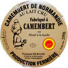 Camembert de Normandie AOP au lait cru - Product