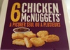 6 Chicken McNuggets - Produit