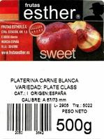 Platerinas - Ingredientes