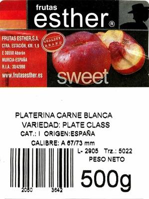 Platerinas - Ingrédients