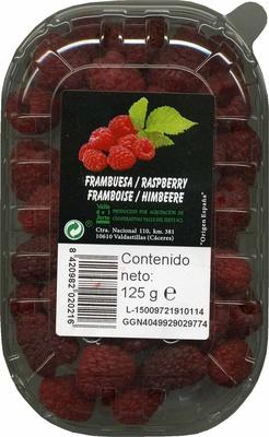 Frambuesas - Producto - es