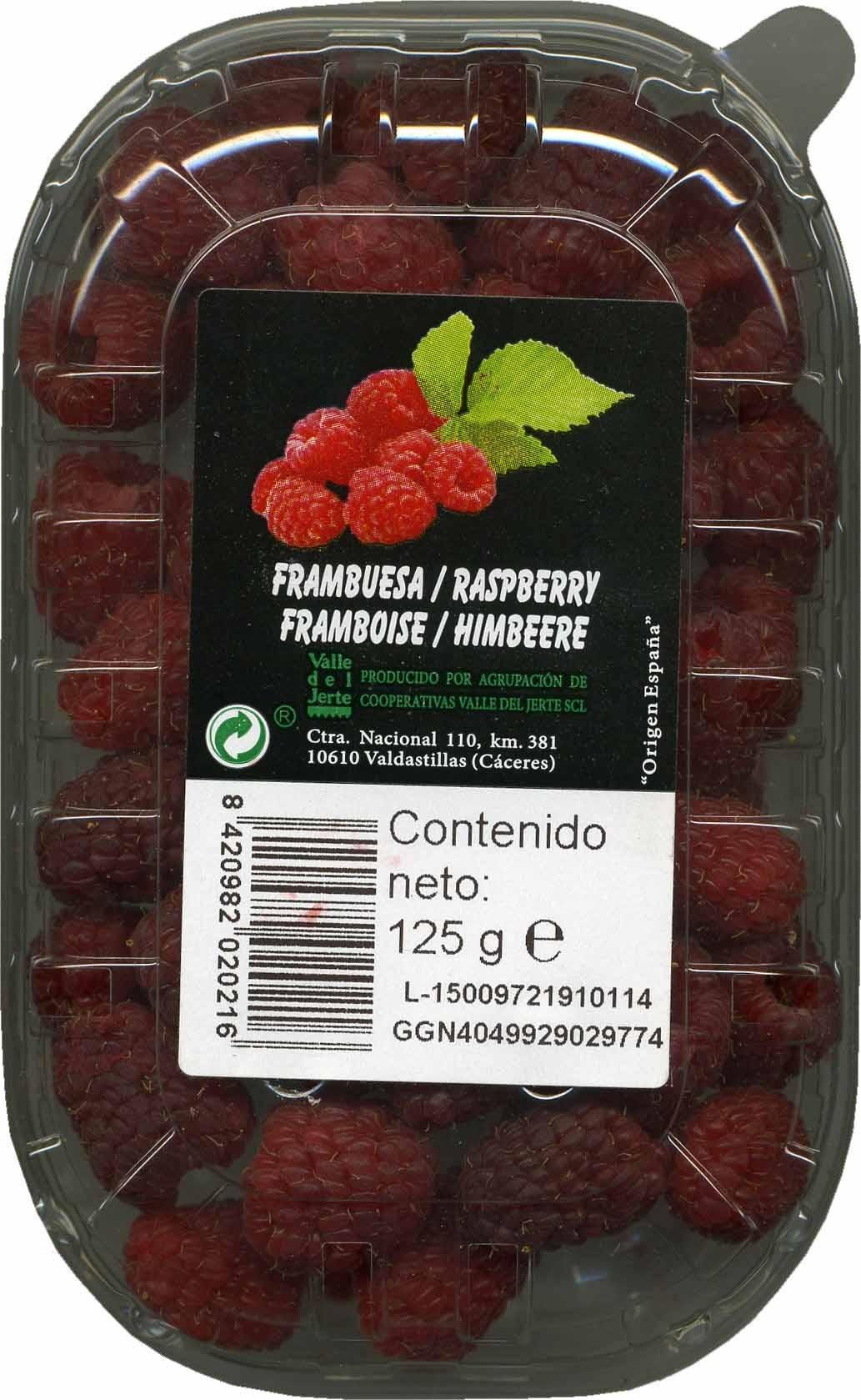 Frambuesas - Producte - es