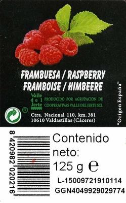 Frambuesas - Ingredients - es