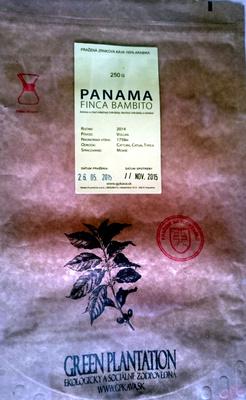 Café Panama Finca Bambito - Green Plantation Coffee Roasters - Product - fr