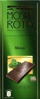 Edel-Zartbitterschokolade Minze 52 % Kakao - Produit