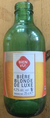 Bière blonde de luxe - Produit - fr