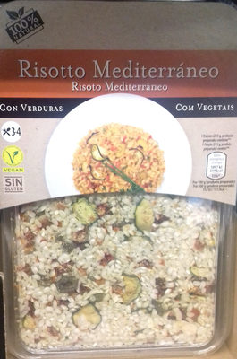 Risotto Mediterráneo - Producto