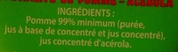 Berlingo Pomme - Ingredients - fr