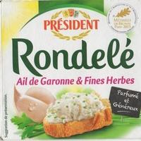 Rondelé Ail de Garonne & Fines herbes (30% MG) - Product - fr
