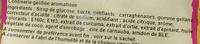Cerise lisse - Ingredients - fr