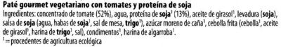 Pains choco x 8 - Ingredientes - es